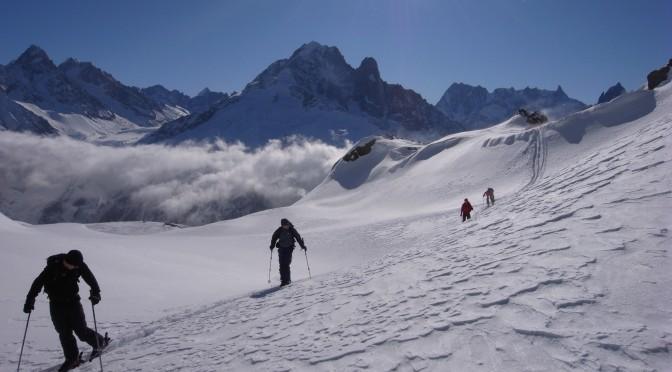 Aiguilles Rouges : la mythique descente du versant Beugeant « rusée »