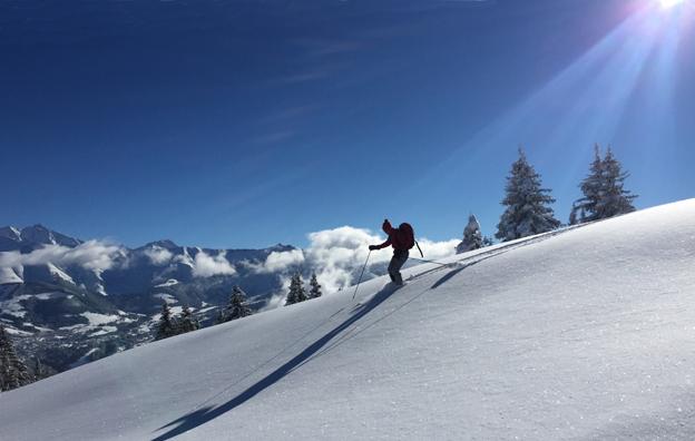 De belles pentes douces - le ski c'est aussi ce plaisir simple
