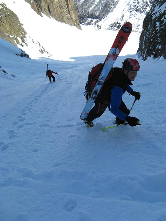 Mes skis Z préférés au repos sur le sac Photo ©Christian Hug